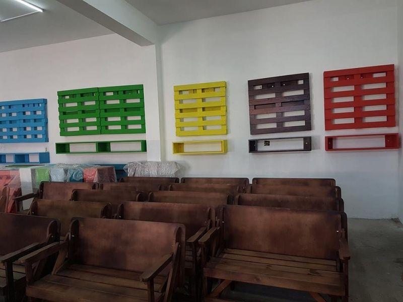 Painéis de Paletes para Plantas em Bragança Paulista - Painel de Madeira para Tv