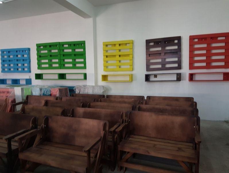 Prateleira de Madeira de Pallet em Americana - Prateleira de Madeira para Livros