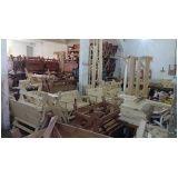 banco de madeira com encosto preço em Taboão da Serra