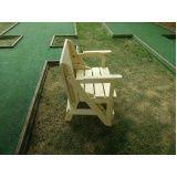 banco de madeira de abrir e fechar em Itu