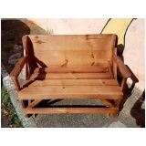 banco mesa de madeira preço Jardim Maranhão