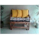 bancos de madeira de paletes Embu