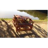 bancos de madeira em sp em Suzano