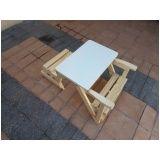 banco mesa para churrasco