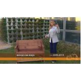 mesa de madeira desmontável em Limeira