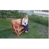 mesa de madeira dobrável