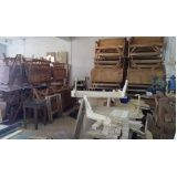 mesa de madeira que abre e fecha