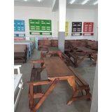 mesa banco de madeira
