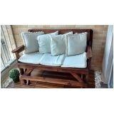 móveis com paletes para varanda preço em Cajamar