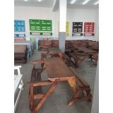 móveis de madeira para cozinha preço em Poá