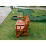 móveis de pallet de madeira