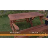 quanto custa banco de madeira para sacada Vila Cercado Grande