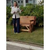 quanto custa mesa de madeira que abre e fecha em São Caetano do Sul